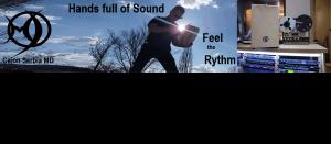 Hands full of sound feel the rythm